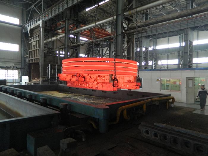 14 02环轨淬火 - 沈阳铸锻工业有限公司热处理分公司